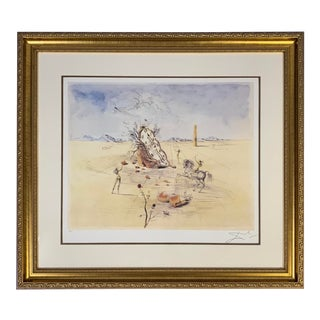 "Salvador Dali ""Cosmic Horseman"" Print For Sale"