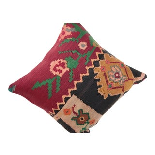 Boho Chic Kilim Pillow Cover For Sale