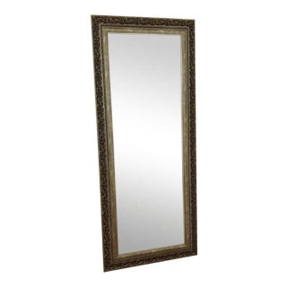 Vintage used full length floor mirrors chairish for Wood floor length mirror