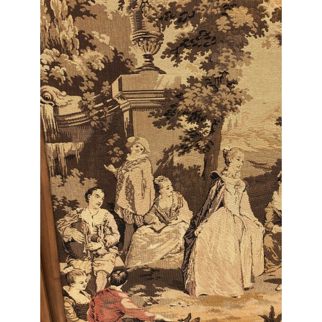 19th Century French Tapestries - a Pair For Sale - Image 4 of 11