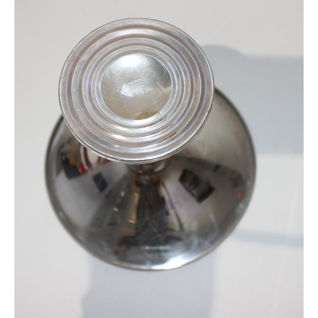 Vintage Fisher Sterling Compote For Sale - Image 4 of 11