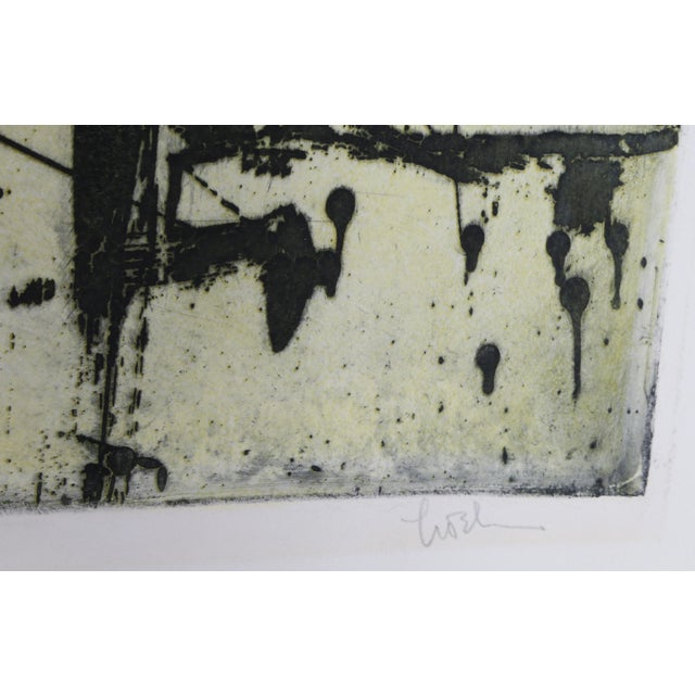 Artist: Harry Hoehn, American (1918 - 1974) Title: Untitled Year: circa 1963 Medium: Etching with Aquatint, signed and...