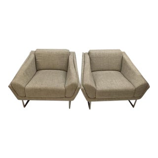 Contemporary Club Chairs For Sale