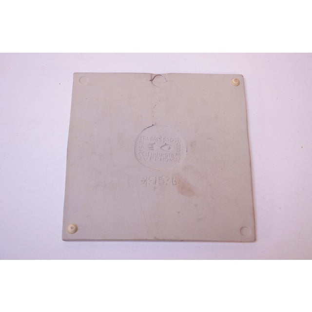 Mid-Century Modern Mid-Century Owl Trivet / Wall Tile by David Gil for Bennington Potters For Sale - Image 3 of 11