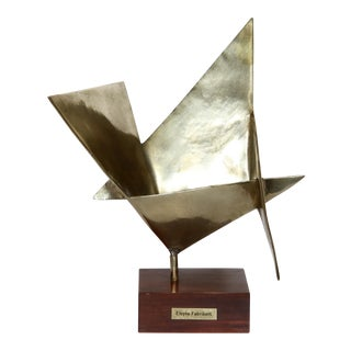 Elayne Fabrikant Geometric Abstract Sculpture For Sale