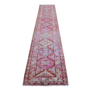 Hand-Made Turkish Runner For Sale