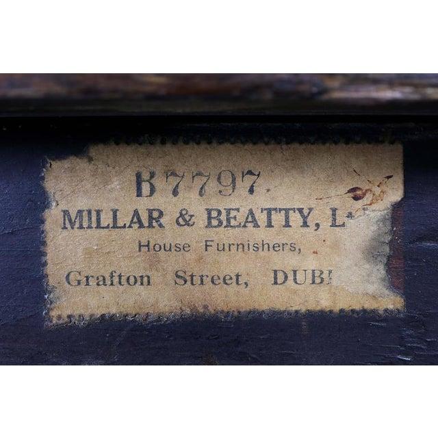 Irish Georgian Mahogany Console Table For Sale In Boston - Image 6 of 10