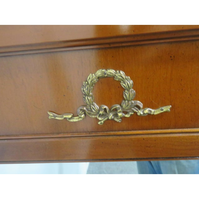 French French Empire Cherry Mirror For Sale - Image 3 of 5