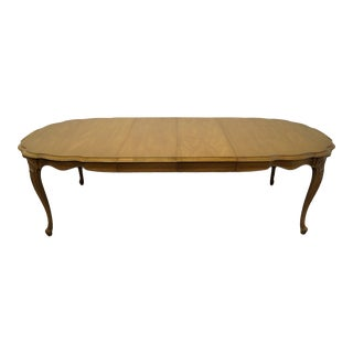 White of Mebane Country French Dining Table For Sale