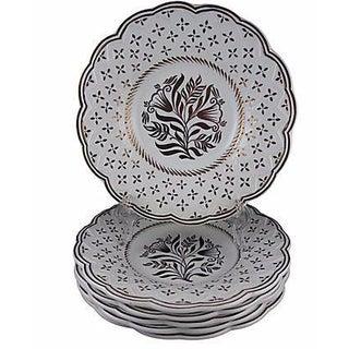 Wedgwood Gold Lustre Plates - Set of 6
