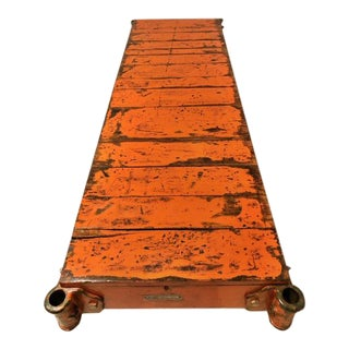 Industrial Cart Coffee Table For Sale
