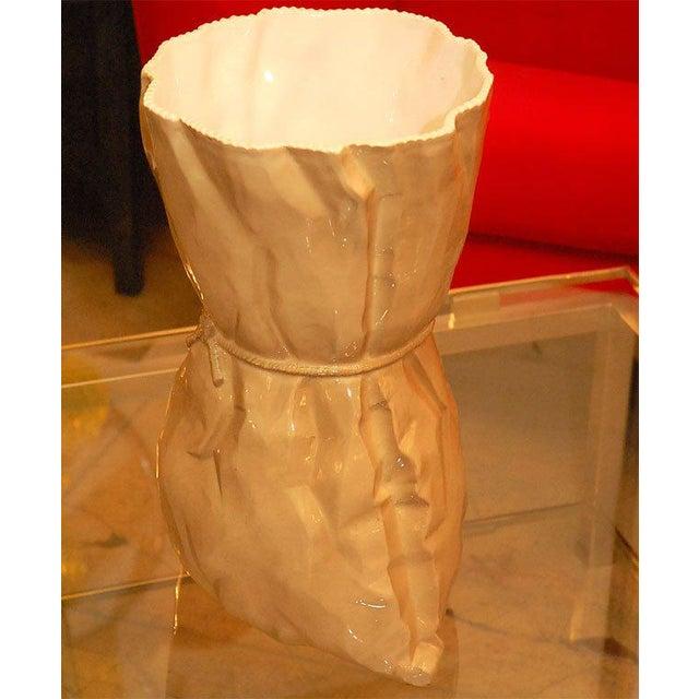 Italian Ceramic Vase For Sale In Los Angeles - Image 6 of 9