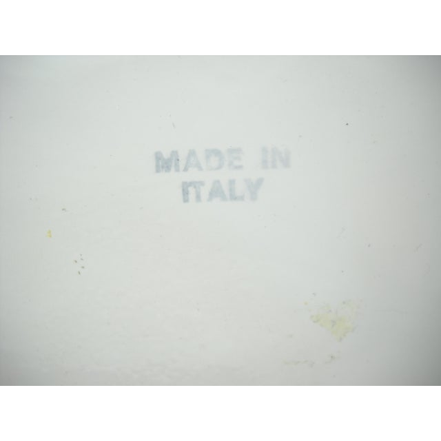Vintage Italian Ceramic Lion Lidded Canister For Sale - Image 10 of 11