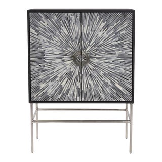Kenneth Ludwig Chicago Aurora Square Bar Cabinet For Sale