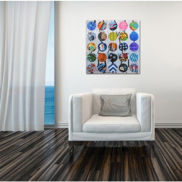 """Twister #17"" Original Artwork by Nicola Katsikis For Sale - Image 9 of 10"