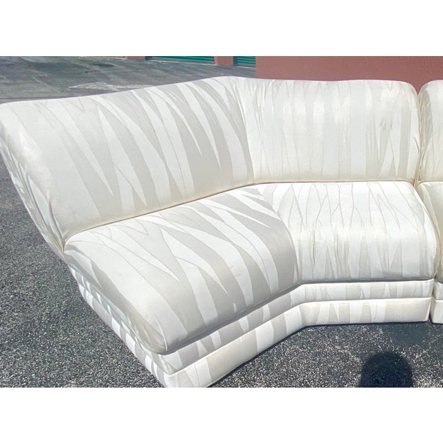 1970s Midcentury Milo Baughman for Thayer Coggin Sectional Sofa For Sale - Image 5 of 12