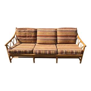 Mid Century Modern Ficks Reed Sofa For Sale