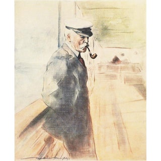 """1901 Mortimer Menpes """"Lord Lennox"""", Original Period Lithograph For Sale"""