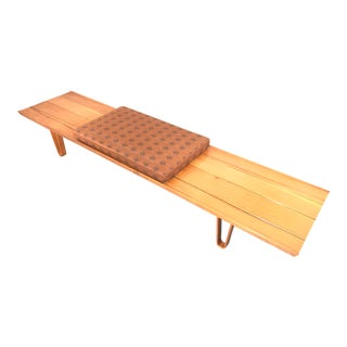 Edward Wormley 7' Long-John Bench For Sale