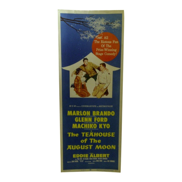 "Vintage ""The Teahouse of the August Moon"" Movie Poster For Sale"
