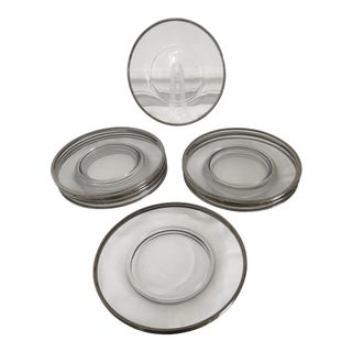 Fostoria Wedding Ring Party Plates - Set 12 For Sale