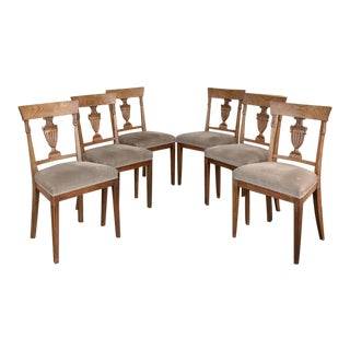 Early 19th Century Directoire Period Dining Chairs- Set of 6 For Sale