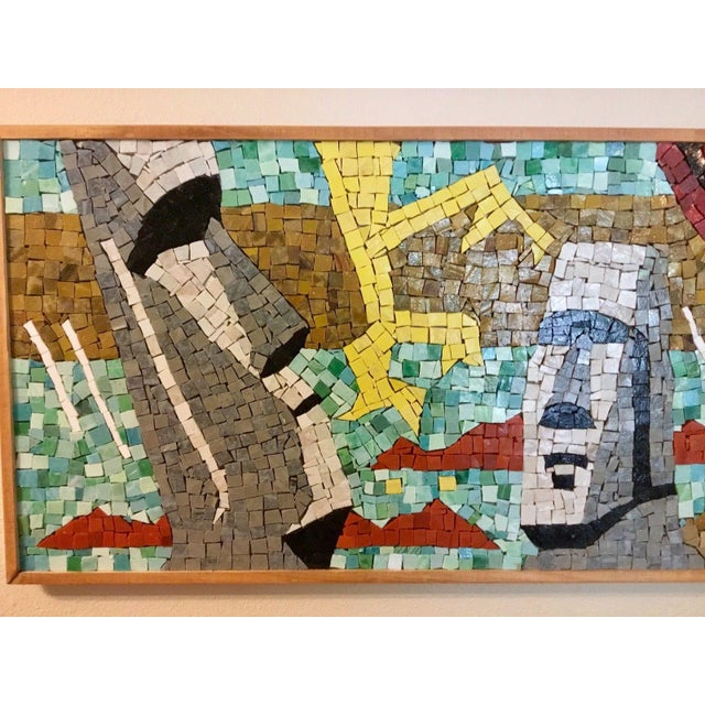 1950s Easter Island Mosaic For Sale - Image 5 of 8