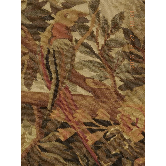 """Chineses Abusson Style Tapestry. 4'x 5'8"""" For Sale - Image 4 of 10"""