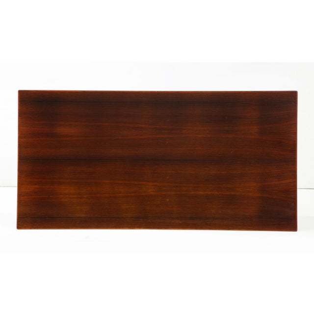 1960s Arne Jacobsen Rosewood Dining Table for Fritz Hansen For Sale - Image 5 of 12