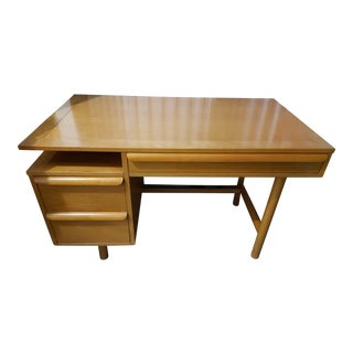 1950s Mid-Century Modern Sligh Writing Desk For Sale