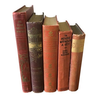 Vintage Books- a Set of 5 For Sale