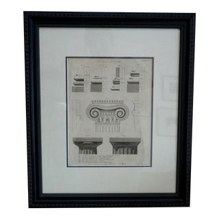 Wilson Lowry 19th Century Architectural Engraving For Sale