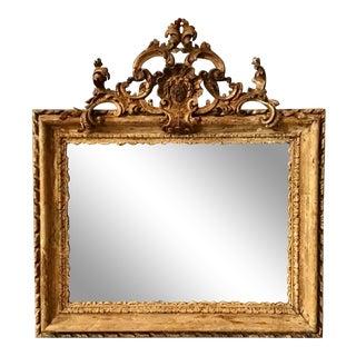 18th C. Italian Baroque Mirror For Sale