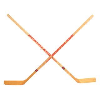 Vintage Ice Hockey Sticks, Pair For Sale