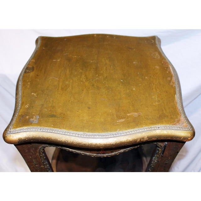 Antique French Gilt Vitrine Display Case For Sale In West Palm - Image 6 of 8