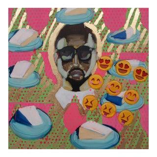 Megan Coonelly Original Pop Art Painting Kanye West