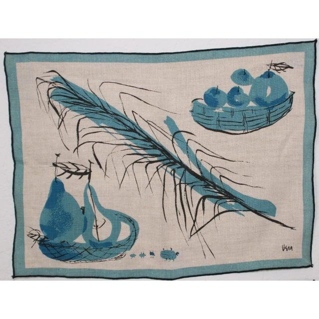 Vera Neumann Linen Placemats - Set of 4 - Image 3 of 7