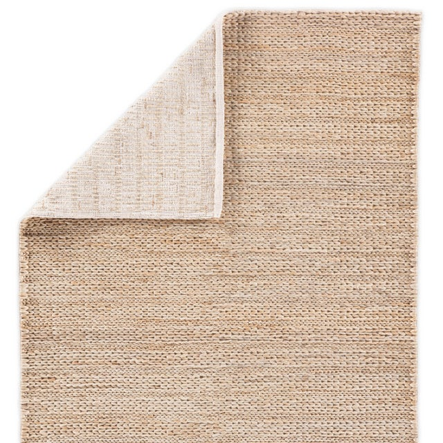 Jaipur Living Poncy Natural Tan Area Rug - 8′ × 10′ For Sale - Image 4 of 6