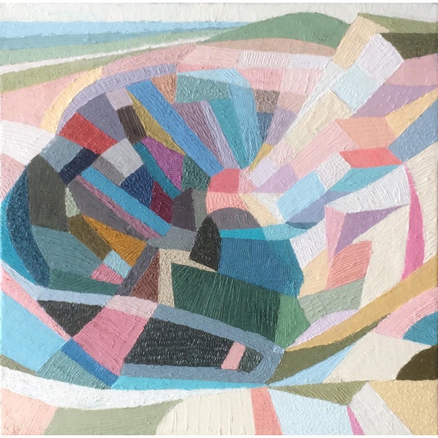 Contemporary Oil Painting by Andy Dobbie, Parys Mountain III For Sale - Image 9 of 9