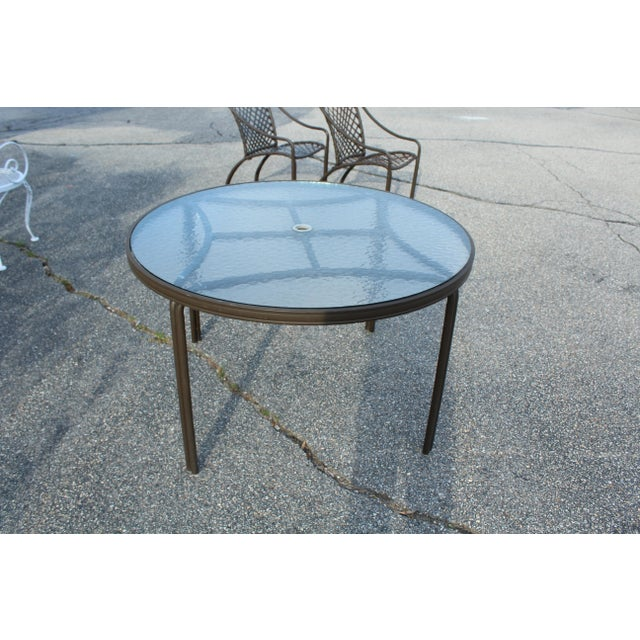 Mid-Century Modern Mid-Century Modern Brown Jordan Outdoor Table For Sale - Image 3 of 5