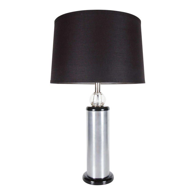 Art Deco Machine Age Table Lamp by Russel Wright For Sale