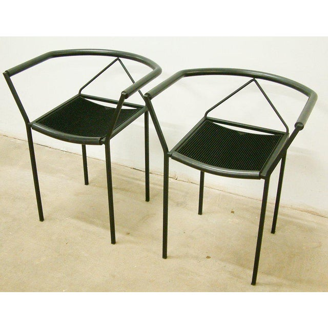 Mid-Century Modern Maurizio Peregalli Zeus Chairs and Stool Set - 3 Piece For Sale - Image 3 of 11