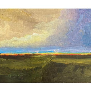 Contemporary Plein Air English Landscape Oil Painting For Sale