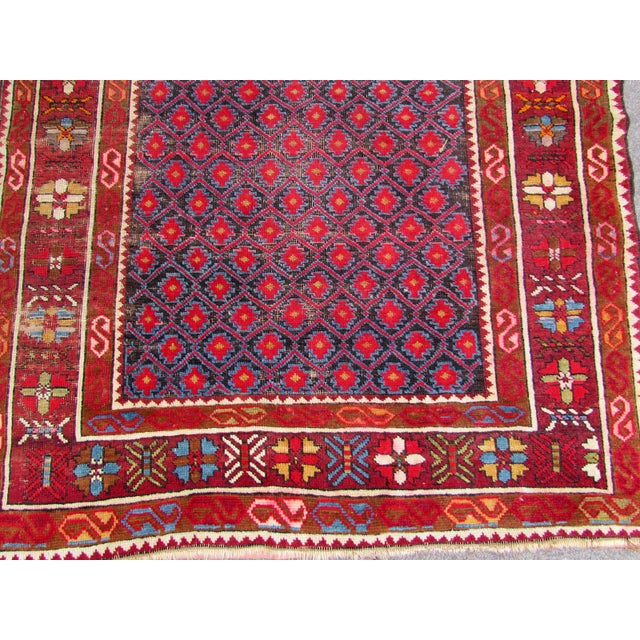 Afghan 1910s, Handmade Antique Afghan Baluch Rug 3.1' X 5.9' For Sale - Image 3 of 13