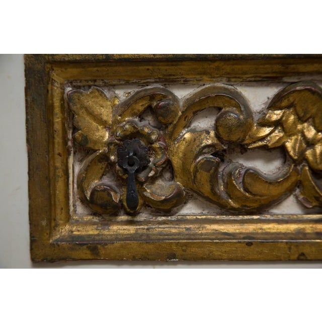 Pair of Italian White and Parcel-Gilt Chests For Sale - Image 9 of 11