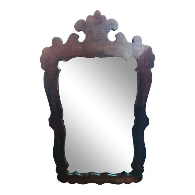 Antique Empire Style Vernacular Mirror For Sale