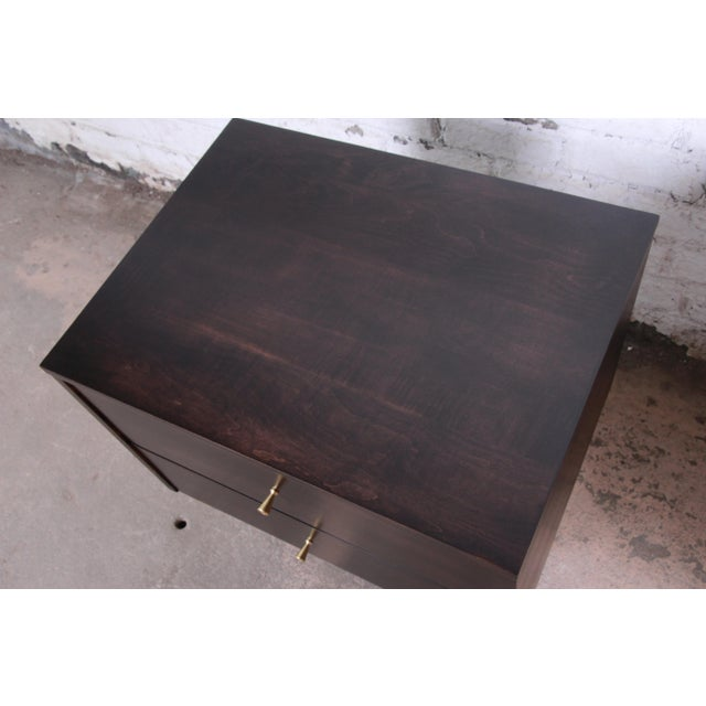 Paul McCobb Planner Group Mid-Century Modern Nightstands, Newly Refinished - a Pair For Sale - Image 10 of 13