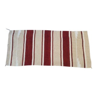 Native American Blanket/Rug - 2′4″ × 5′2″ For Sale