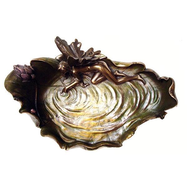 Art Nouveau Pond Leaf - Image 3 of 6
