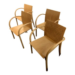 Vintage Danish Modern Thonet Armchairs - Set of 4 For Sale